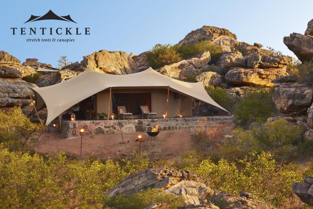 Luxus Zelt von Tentickle. Ein Stretchzelt wie kein anderes.